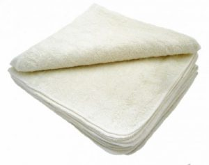 Bamboo/Cotton Washable Wipes 12pk