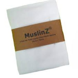 Muslin Fair Trade Organic Cotton 3pk