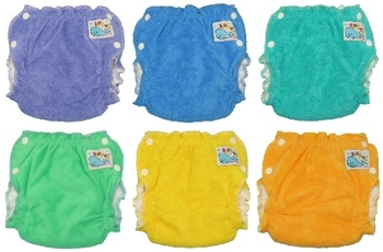 Sandys Dyed Cotton nappies