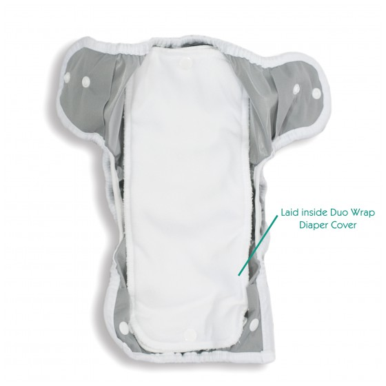 Thirsties stay dry duo insert inside Duo Wrap