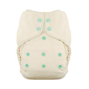 Thirsties One Size Natural Fitted Nappy