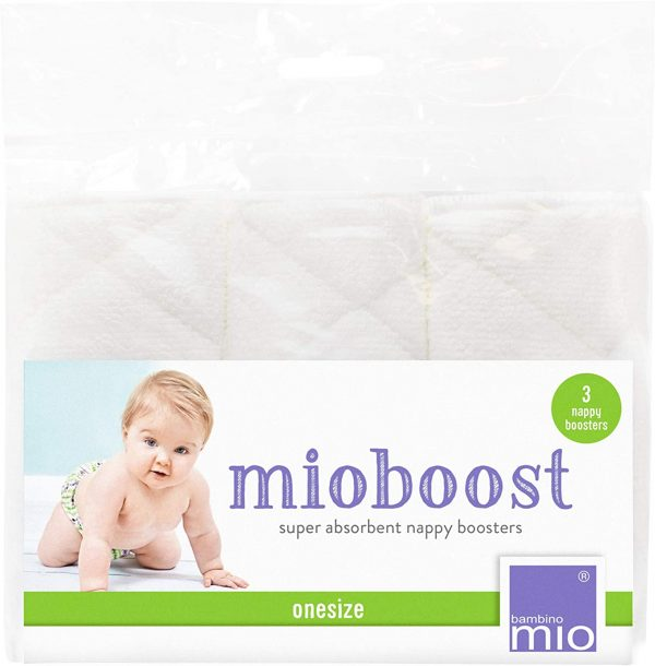 3 pack of bambino mio boosteres