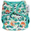 Red Panda wrap onesize cloth parent
