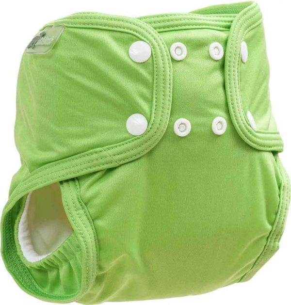 Little Lamb Sized pocket Apple Green