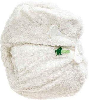 Little Lamb Bamboo Shaped Nappy NIPPA FASTENING NO VELCRO