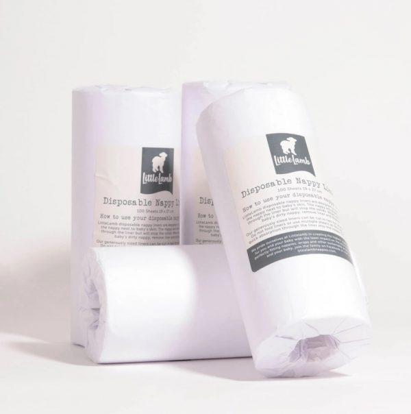 4 pack Little Lamb Paper Liners
