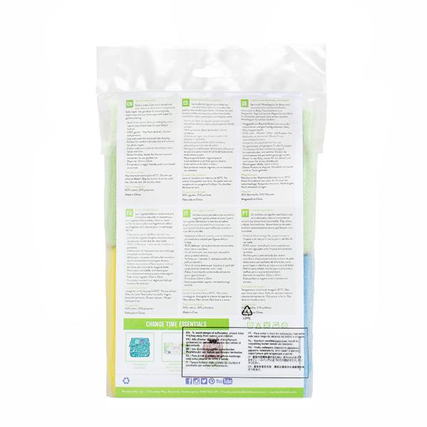 Bambino Mio soft cotton wipes back of packet
